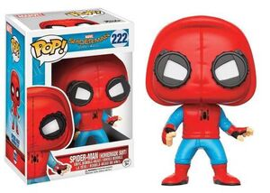 SPIDER-MAN HOMECOMING FIGURA 9 CM SPIDER-MAN HOMEMADE SUIT VINYL POP