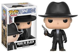 WESTWORLD FIGURA 9 CM MAN IN BLACK VINYL POP
