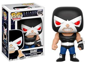 BATMAN THE ANIMATED SERIES FIGURA 9 CM BANE VINYL POP!
