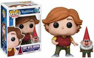 TROLLHUNTERS FIGURA 9 CM TOBY WITH GNOME VINYL POP