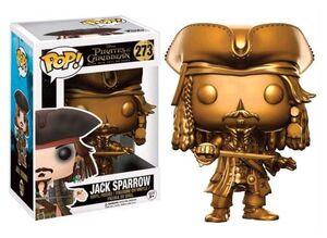 PIRATAS DEL CARIBE POP VINYL JACK SPARROW GOLD VER. LTD. ED.