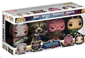GUARDIANES DE LA GALAXIA 2 PACK 4 FIG 9 CM VINYL POP SET 1