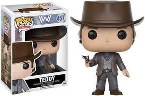 WESTWORLD FIGURA 9 CM TEDDY VINYL POP