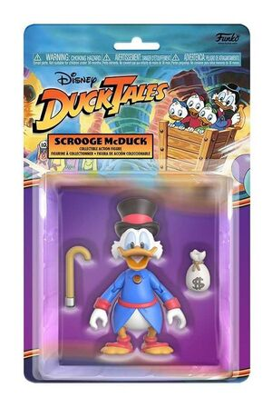 PATOAVENTURAS FIGURA 10 CM SCROOGE MCDUCK REACTION SERIES