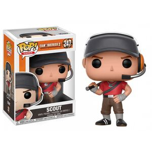 TEAM FORTRESS 2 FIGURA 9 CM SCOUT VINYL POP!
