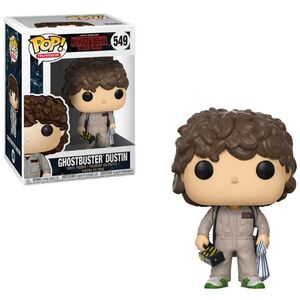 STRANGER THINGS FIGURA 9CM GHOSTBUSTER DUSTIN VINYL POP! FUNKO 549