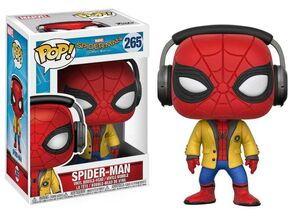 SPIDER-MAN HOMECOMING FIGURA 9 CM SPIDER-MAN (HEADPHONES) VINYL POP