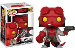 HELLBOY FIGURA 9 CM HELLBOY VINYL POP! FUNKO 01
