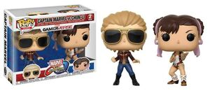 MARVEL VS CAPCOM: INFINITE FIGURAS 9 CM SET 2 CAPTAIN MARVEL VS CHUN-LI