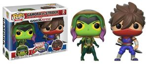 MARVEL VS CAPCOM INFINITE PACK 2 FIGURAS 9 CM GAMORA VS STRIDER