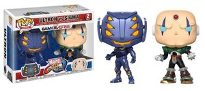 MARVEL VS CAPCOM INFINITE PACK 2 FIGURAS 9 CM ULTRON VS SIGMA POP!