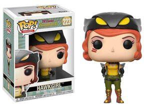 HAWKGIRL FIGURA 9 CM DC COMICS BOMBSHELLS POP! FUNKO 223