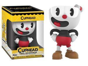 CUPHEAD FIGURA 9 CM CUPHEAD VINYL COLLECTIBLE