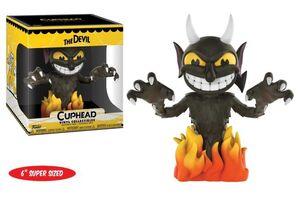 CUPHEAD FIGURA 15 CM THE DEVIL SUPER SIZED VINYL COLLECTIBLE