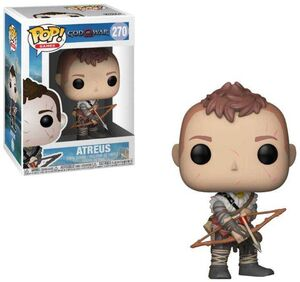 GOD OF WAR FIGURA 9 CM ATREUS VINYL POP! FUNKO 270