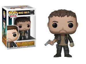 MAD MAX FURY ROAD FIGURA 9 CM MAX ROCKATANSKY VINIL POP! FUNKO 509