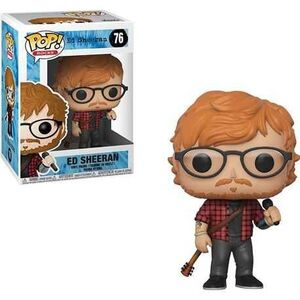 ED SHEERAN POP FIG 9CM ED SHEERAN