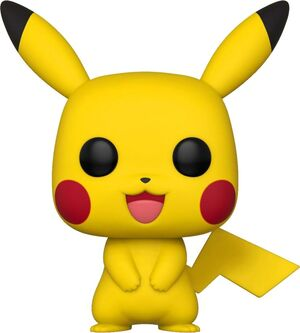 POKEMON POP! GAMES VINYL FIGURA PIKACHU 9 CM