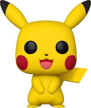 POKEMON FIGURA SUPER SIZED POP! GAMES VINYL PIKACHU 25 CM