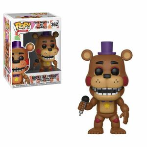 FIVE NIGHTS AT FREDDY'S FIGURA 9 CM ROCKSTAR FREDDY POP! GAMES FUNKO 362