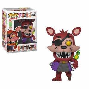 FIVE NIGHTS AT FREDDY'S FIGURA 9 CM ROCKSTAR FOXY POP! GAMES FUNKO 363