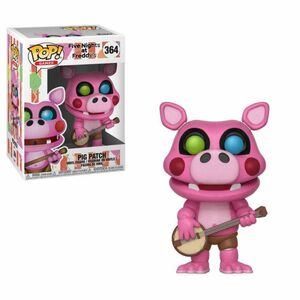 FIVE NIGHTS AT FREDDY'S FIGURA 9 CM PIG PATCH POP! GAMES FUNKO 364
