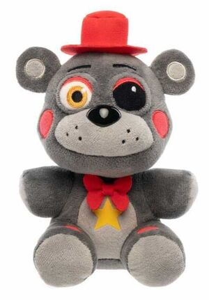 FIVE NIGHTS AT FREDDY'S PIZZA SIMULATOR PELUCHE LEFTY 15CM
