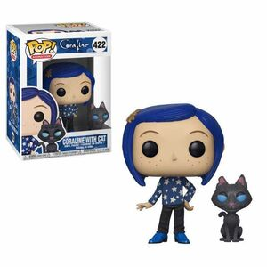 CORALINE FIG 9CM POP CORALINE WITH CAT