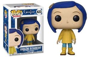 CORALINE FIG 9CM POP CORALINE IN RAINCOAT