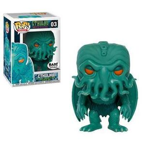 CTHULHU FIG 9CM POP CTHULHU NEON GREEN ED. ESPECIAL