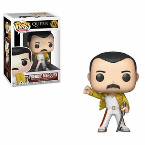 QUEEN POP FIG 9CM FREDDY MERCURY WEMBLEY 1986