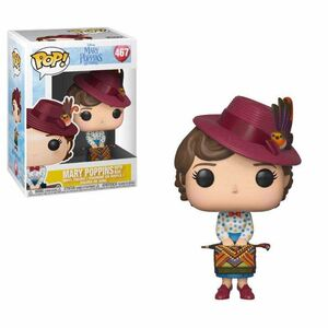 MARY POPPINS 2018 FIG 9CM POP MARY WITH BAG