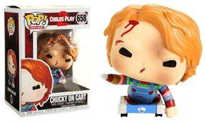 CHUCKY FIG 9CM POP CHUCKY EN CARRO ED. ESPECIAL
