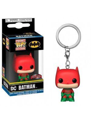 BATMAN LLAVERO POCKET POP FIG 4CM BATMAN HOLIDAY (EXCLUSIVO)
