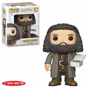 HARRY POTTER FIGURA 14 CM RUBEUS HAGRID (WITH CAKE) POP! FUNKO 78