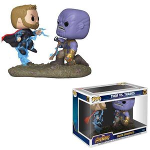 MARVEL PACK 2 POP MOVIE MOMENTS FIG 9CM THOR Y THANOS