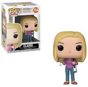 MODERN FAMILY FIG 9CM POP CLAIRE