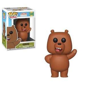 SOMOS OSOS FIG 9CM POP GRIZZLY