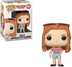 STRANGER THINGS TEMP 3 FIG 9CM POP MAX CON TRAJE CENTRO COMERCIAL