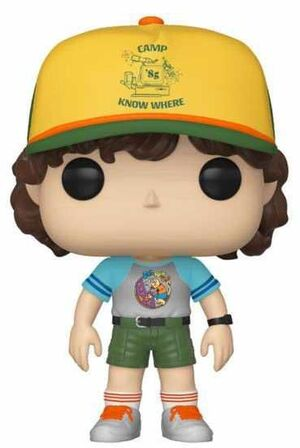STRANGER THINGS FIG 9CM POP DUSTIN ARCADE CAT TEE ED. ESPECIAL