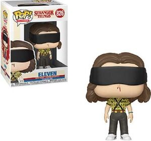 STRANGER THINGS TEMP 3 FIG 9CM POP BATTLE ELEVEN