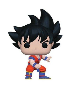 DRAGON BALL Z FIG 9CM POP GOKU
