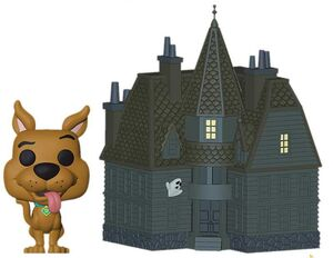SCOOBY-DOO FIG 9CM POP HAUNTED MANSION