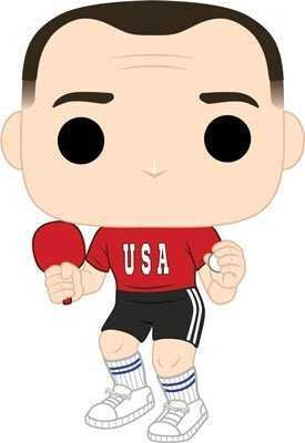 FOREST GUMP FIG 9CM POP FOREST CON EQUIPACION DE PING PONG