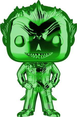 JOKER FIG 9CM POP THE JOKER GREEN CHROME ED. ESPECIAL