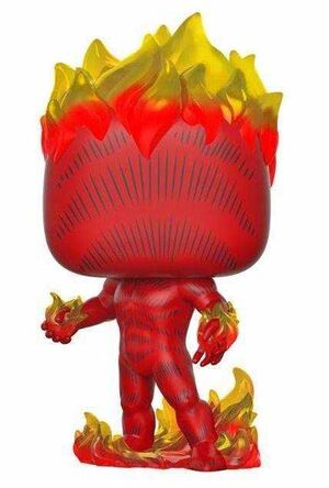MARVEL 80TH FIG 9CM POP ANTORCHA HUMANA FIRST APPEARANCE