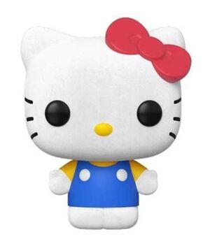 HELLO KITTY FIG 9CM POP HELLO KITTY CLASSIC (FLOCKED)