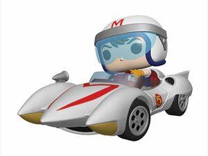 SPEED RACER FIG 9CM POP SPEED CON MACH 5