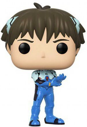 EVANGELION FIG 9CM POP SHINJI IKARI