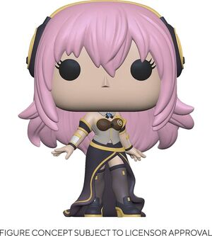 VOCALOID FIGURA POP! ANIMATION VINYL MERGURINE LUKA V4X 9 CM